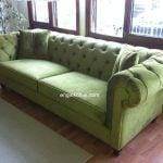 yeşil chester klasik koltuk 117