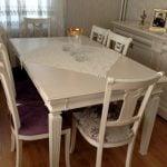 yemek masası sandalyeler cila mc22