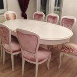 yemek masası ve sandalye cila mc43